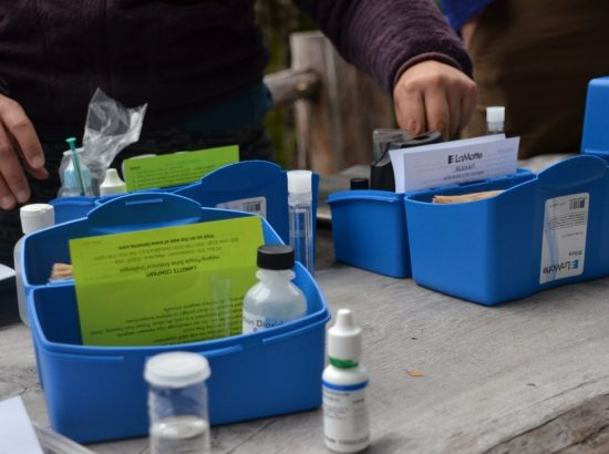 kits used for scientific testing