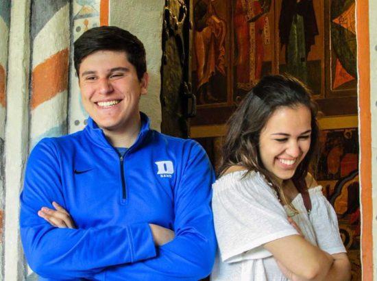 DukeEngage students smiling