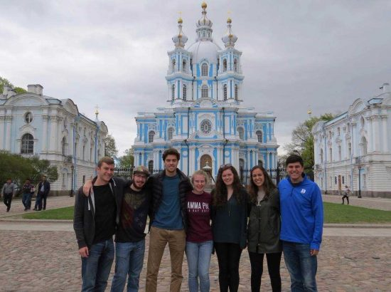 DukeEngage students in Russia