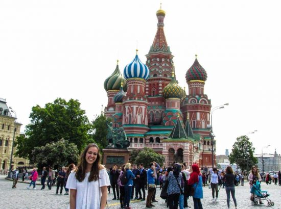 DukeEngage student in Russia
