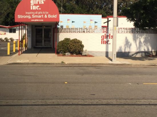 The front of the Girls Inc. building in Orange County CA