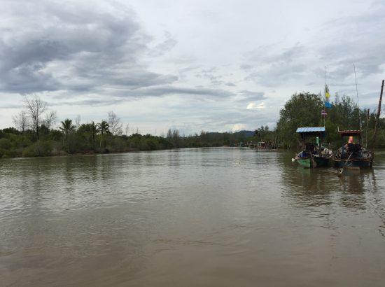 View from boat ride to Ko Kho Khao from Ban Nam Khem DukeEngage Thailand