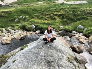 DukeEngage student Sara Evall in Ireland 2016