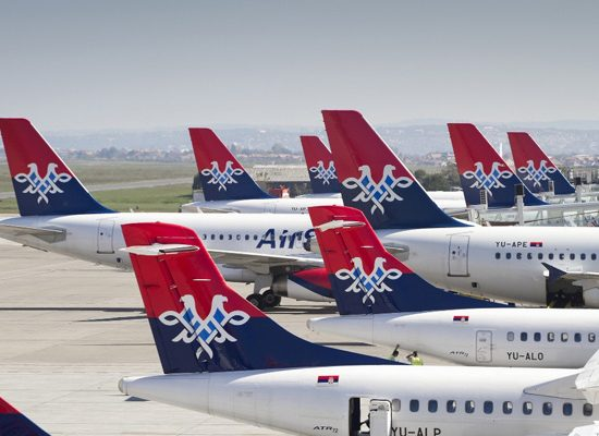 Photo of Air Serbia planes