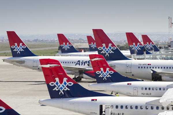 Photo of Air Serbia planes