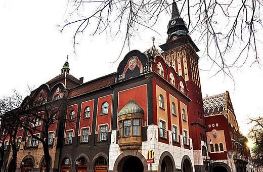 A McDonalds in Serbia