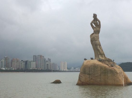 The Pearl Lady, symbol of Zhuhai