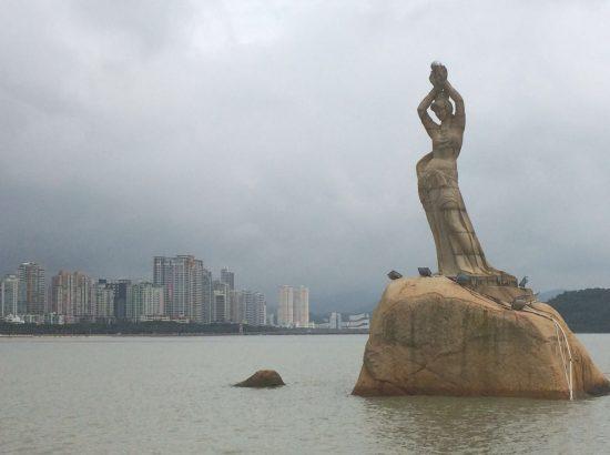 The Pearl Lady, symbol of Zhuhai