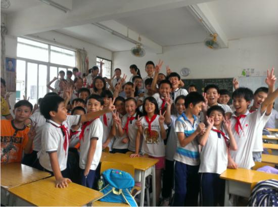 children dressed in their school uniforms