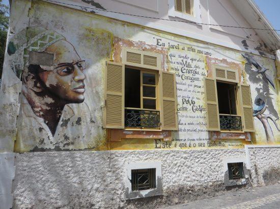 A mural in Cape Verde