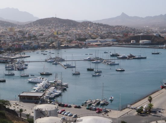 A port in Cape Verde