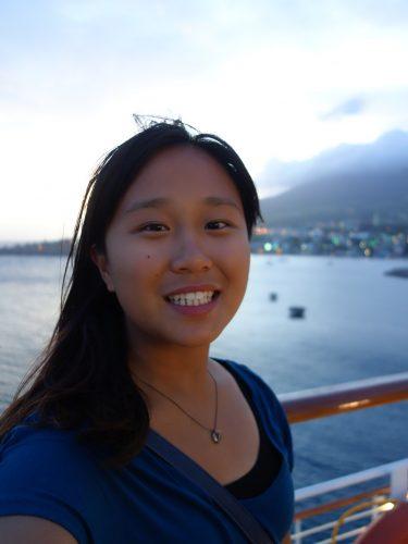 Junette Yu smiling