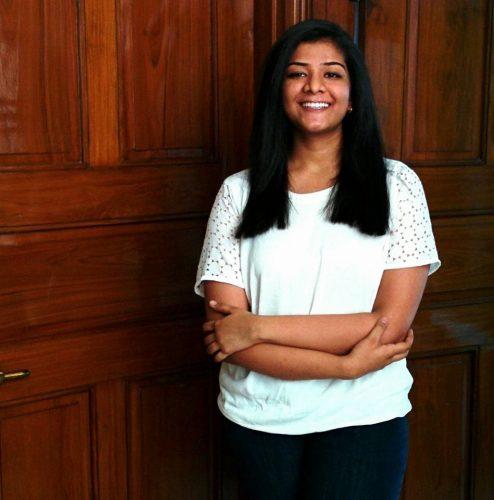 Nalini Gupta smiling