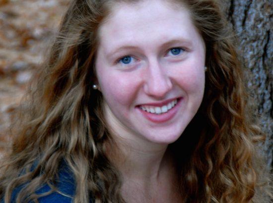 young woman, Sarah Rapaport, smiling