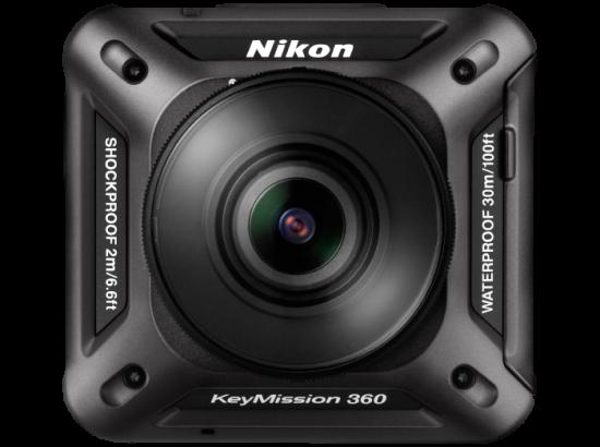 small black square camera