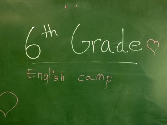 6th Grade English Camp