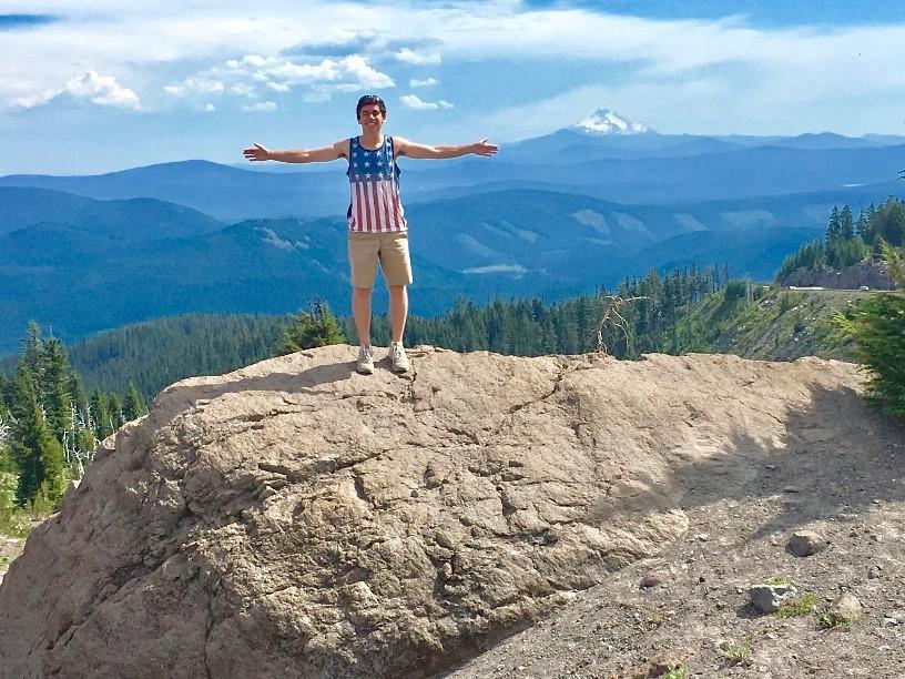 Elliott Davis in Mt. Hood National Forest