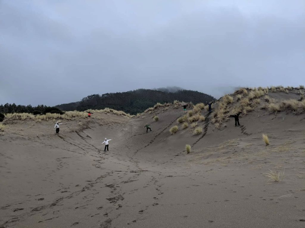 If you look closely, you can spot DukeEngage Chile on a sand dune.