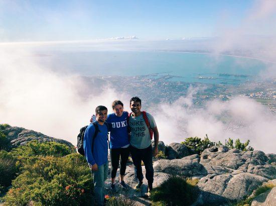 Zack (left), Michaela (center), Shreyas (right)