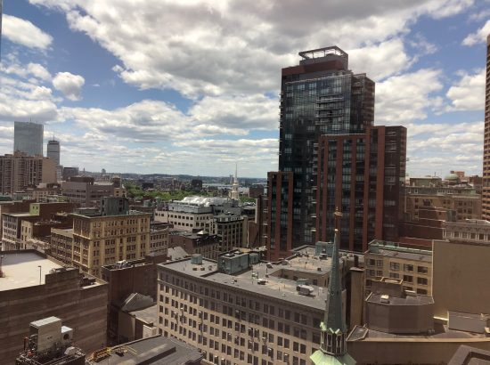 The view of Boston from the Root Cause office