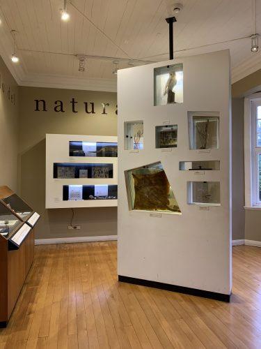 Exhibit at the Philippi Exploration museum