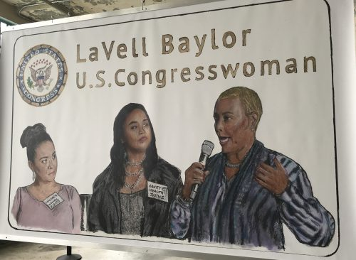 3 Women - 1 LaVell Baylor U.S. Congresswoman