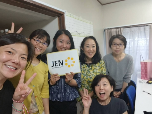 JEN staff members smiling