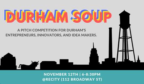 Durham Soup flyer