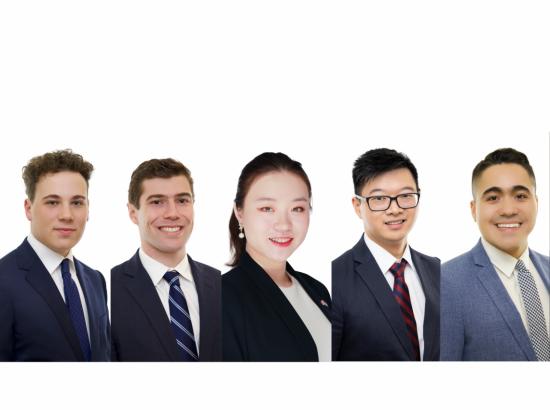 Schwarzman Scholars 2019 headshots