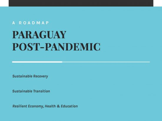 Cover of Paraguay Post-Pandemic report.